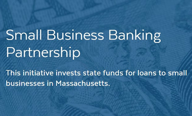 Blue Small Business Banking Partnership Logo